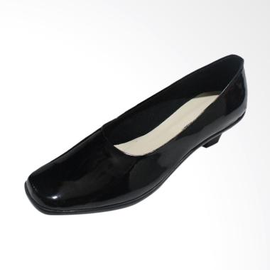 Andri Collection AR C1 Sepatu Heel Pantofel Formal Wanita - Hitam
