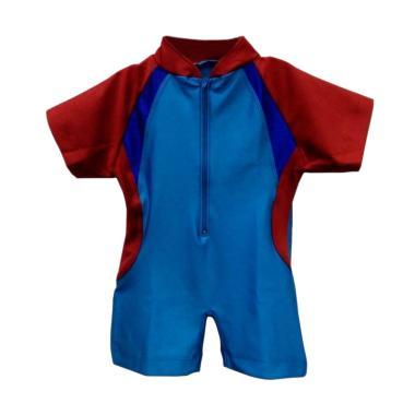 STB Kids Model Diving Baju Renang Bayi Laki Laki - Biru Merah