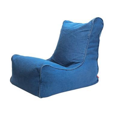 Bottom Dock Mason Denim Sofa Beds - Blue