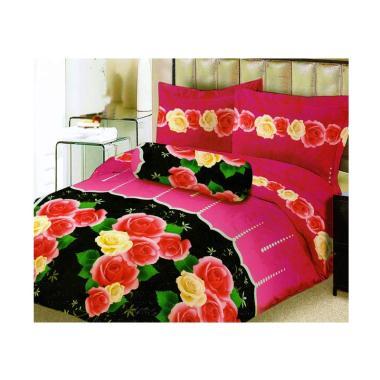 Lady Rose Rosetta Set Sprei - Pink