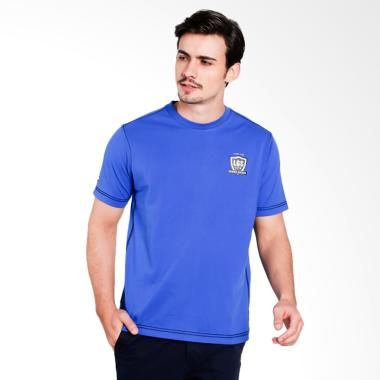 df048f18 LGS Slim Fit Kaos Pria - Blue [JTS.322.M1836F.01.C]
