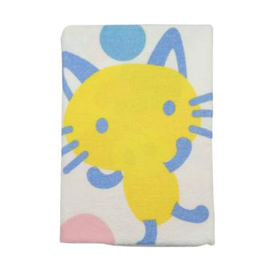 Cotton Tree Jepang Animal Handuk Bayi - Yellow