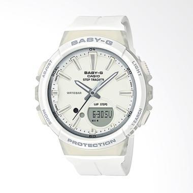 CASIO Baby-G BGS-100-7A1 Step Tracker Jam Tangan Wanita - White