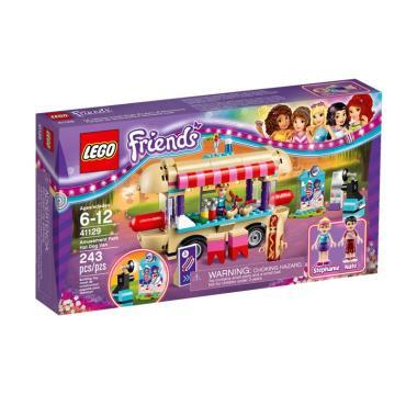 LEGO Friends 41129 Amusement Park Hot Dog Van Mainan Blok dan Puzzle