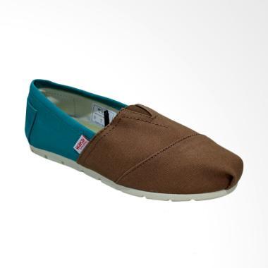 Wakai WAK-CW017BG-HAME Sepatu Unisex - Turquoise Brown