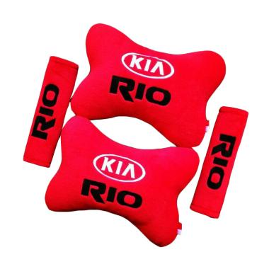 harga Indonesia Motor Motif KIA Rio Set Aksesoris Interior Mobil - Red Blibli.com