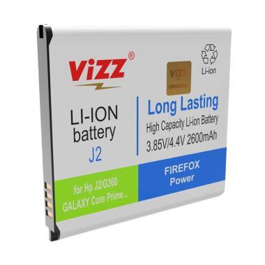 Vizz Double Power Battery for Samsung J2/G360/Core Prime [2600 mAh]