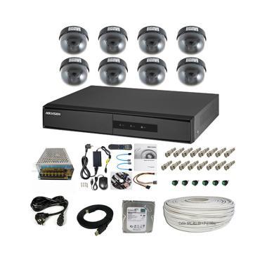 Hikvision 800 -1200TVL Non IR 1TB 1 ...  Analog Indoor Paket CCTV
