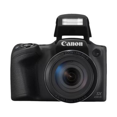 Canon PowerShot SX 430 Kamera Prosumer - Hitam
