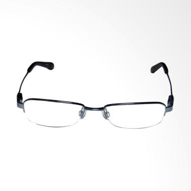 OEM Frame Halfrim Kacamata Plus dan Baca - Black [+2.00]