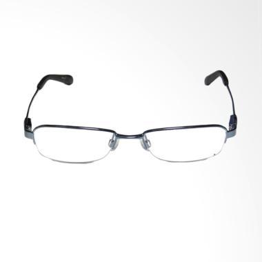 OEM Frame Halfrim Kacamata Plus dan Baca - Black [+275 ]