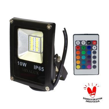 Miyalux SMD Warna Warni Lampu Sorot LED [10 watt]
