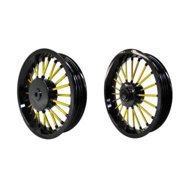 harga Power Andong for Xeon - Black Gold [R14 Inch/ 1 Set] Blibli.com