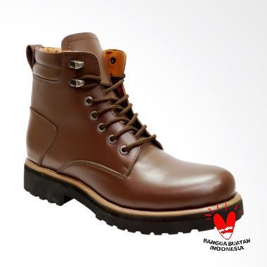 Dr.Faris Footwear Sepatu Boots Kulit Premium [4050]