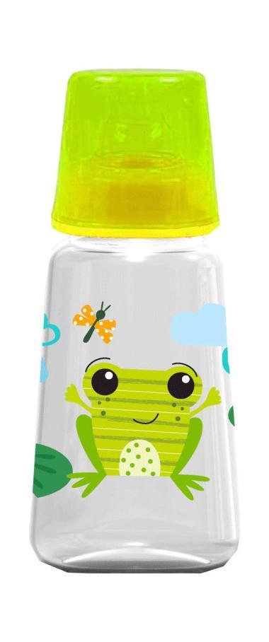 Baby Safe JS001 Frog Feeding Bottle Botol Susu Anak - Green [125 mL]