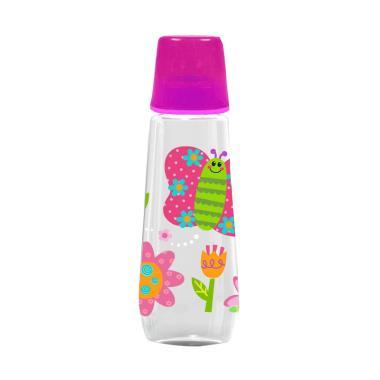 Baby Safe JS002 Butterfly Feeding Bottle Botol Susu Anak - Pink [250 mL]