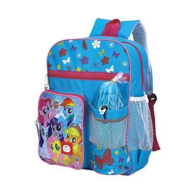 Catenzo Jr. CAI023 Rainbow Pony Tas Sekolah Anak Perempuan