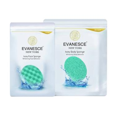 Evanesce Newyork Ivory Face and Body Sponge