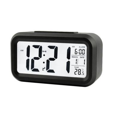 Jam Meja Digital With Alarm JM001 - Black