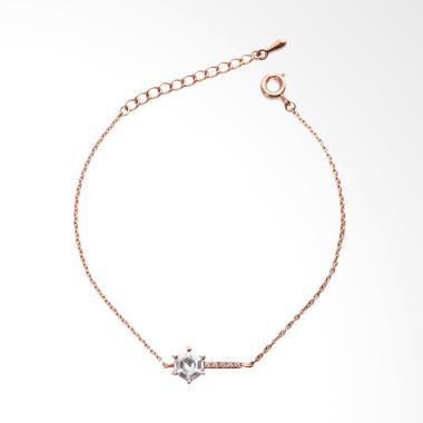Cocoa Jewelry Golden Time Gelang - Rose Gold