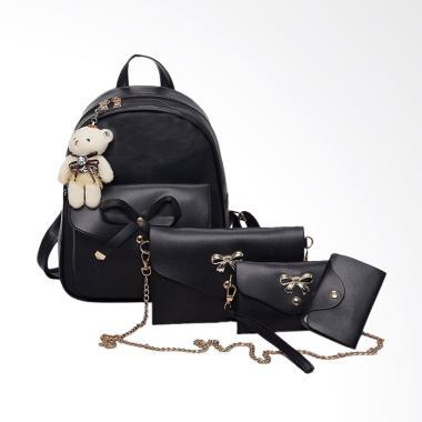 Lansdeal Women Four Pieces Bag Set  ... Bag/ Hand Bag/ Card Pack]