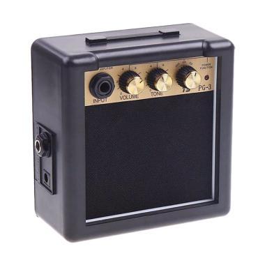 iBegu Amplifier Mini Gitar Elektrik 3W - PG-3 - Black