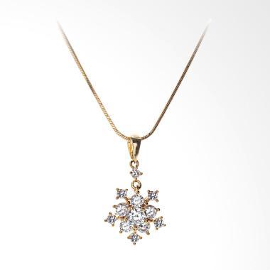 Cocoa Jewelry Magic Castle Kalung - Rose Gold