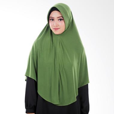 Atteena Hijab Aulia Keyra Jilbab Instan - Dark Green