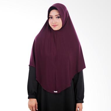 Atteena Hijab Aulia Keyra Jilbab Instan - Dark Purple
