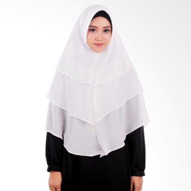 Atteenahijab Khimar Akina Jilbab Instant - White