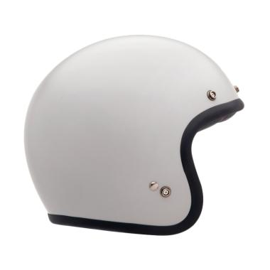 Bell Bell Custom 500 Helm Half Face - White