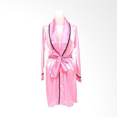 Deoclaus KP1 Fashion Kimono Lingerie - Pink