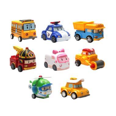 Enandem Robocar Poli Set Mainan Mobil Anak [8 pcs]