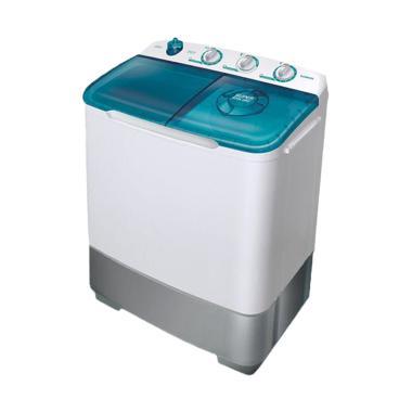 Sanken TW-8800 ETG Mesin Cuci 2 Tabung - Tosca Hijau [7 kg]