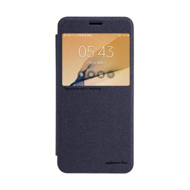 Nillkin Sparkle Leather Casing for  ...  Galaxy On 7 2016 - Black