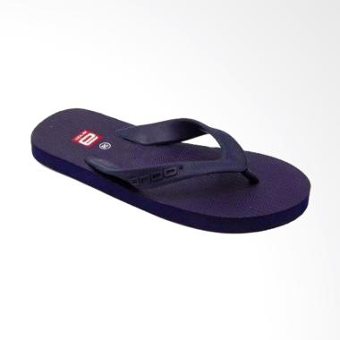Ando Hawaii  Sandal Jepit Pria - Navy Blue