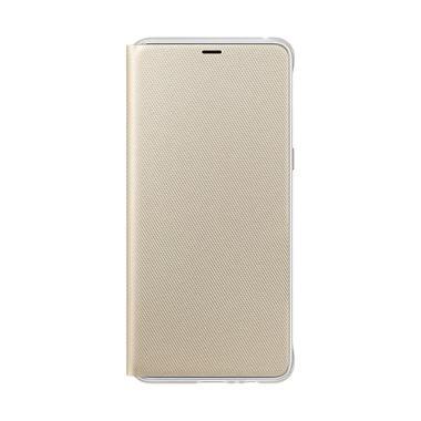 Samsung Original Neon Flip Cover Ca ... 8 Plus 2018 / A730 - Gold