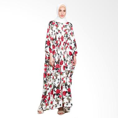 Rauza Rauza Rose Kaftan Dress Muslim - Putih