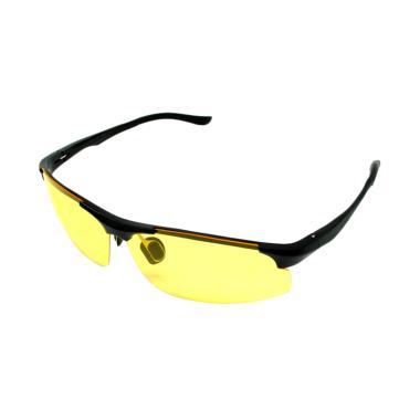 iSports Lensa Mercury Kacamata Sepeda - Black Yellow