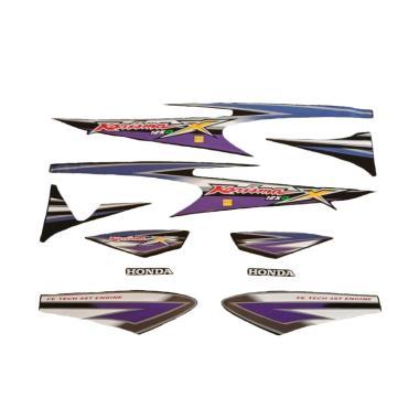 harga Idola Striping Aksesoris Body Motor for Karisma X 2005 - Hitam Ungu Blibli.com