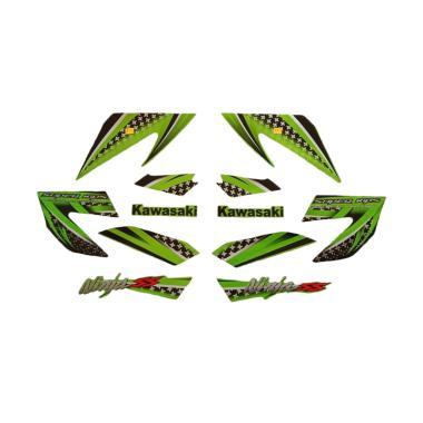 harga Idola Striping Aksesoris Body Motor for Ninja SS 2013 - Hitam Hijau Blibli.com
