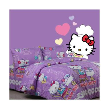 Sierra Hello Kitty Wardrobe Set Sprei - Ungu