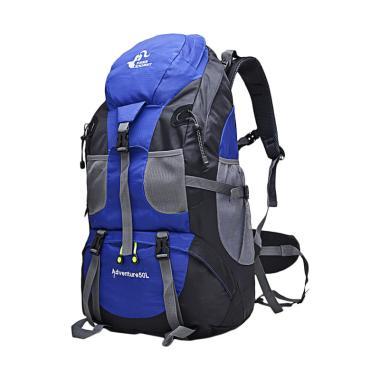 Free Knight Adventure Carier Tas Gunung Pria - Biru [50 L]