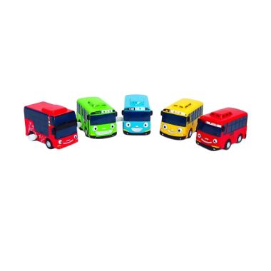 ICONIX Tayo The Little Bus Wind Up  ... an Anak [5 pcs/ Original]