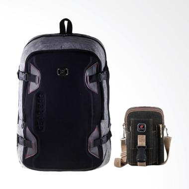 Gear Bag Radiant Backpack - Grey + Free Mini Dexter Canvas - Grey
