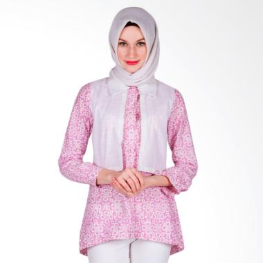 Arya Putri Batik Kanyaka ATM-010-PW Baju Batik Muslim Wanita