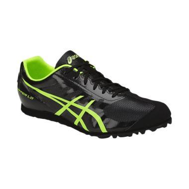 Asics Hyper LD 5 Safety Sepatu Lari Pria - Black Yellow