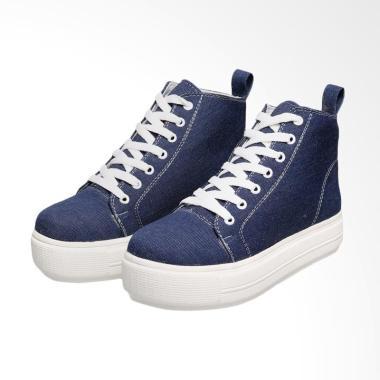 Syaqinah 044 Sepatu Boots Wanita - Biru