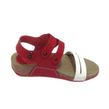 Flonel FF-LC-03 Fashion Sandal Anak Perempuan - Red