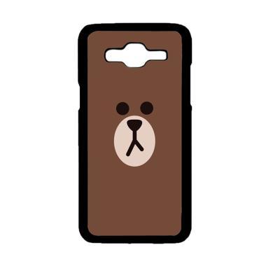 designer fashion c80d9 444e3 Acc Hp Brown Custom Hardcase Casing for Samsung Galaxy J2 Prime